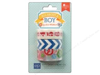 Decorative Masks Red: Echo Park Decorative Tape All About A Boy