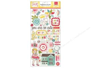 "Echo Park Paper Company Echo Park Chipboard: Echo Park Chipboard 6""x 12"" Sweet Girl"