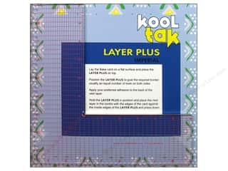 "Kool Tac Kool Tak Ultra Clear Tape: Kool Tak Layer Plus Centering/Piercing Tool 9""x 9"""