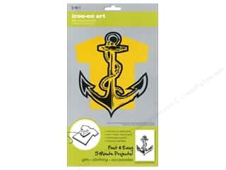 SEI Iron-On Appliques: SEI Iron On Art Transfer Flocked Anchor