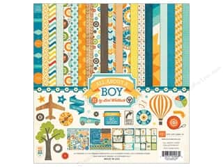Echo Park Collection Kit 12 x 12 in. All About A Boy