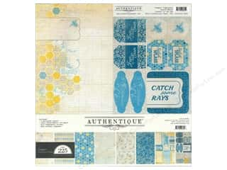 New Years Resolution Sale Kit: Authentique Collection Kit 12 x 12 in. Seasons: Summer