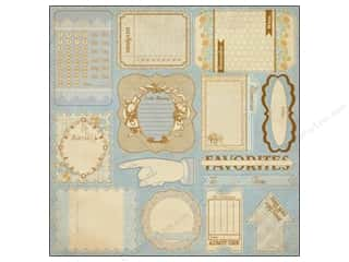 Clearance Blumenthal Favorite Findings: Authentique Stickers 12 x 12 in. Hope Statements (18 set)