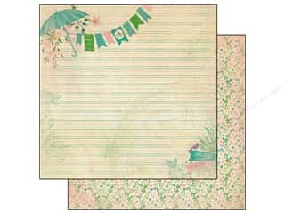 Authentique Paper 12 x 12 in. Seasons Spring One (25 piece)