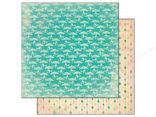 Spring Papers: Authentique 12 x 12 in. Paper Seasons Spring Collection Three (25 pieces)