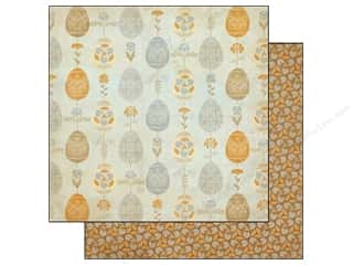 Clearance Blumenthal Favorite Findings: Authentique 12 x 12 in. Paper Hope Custom (25 piece)