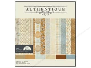 Clearance Blumenthal Favorite Findings: Authentique Paper Bundle 8 x 8 in. Hope 24 pc.