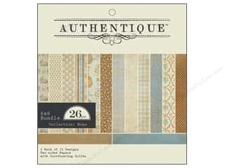 Authentique 6 x 6 in. Paper Bundle Hope 26 pc.
