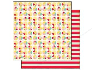 Echo Park 12 x 12 in. Paper Sweet Girl Pie Charts (25 piece)