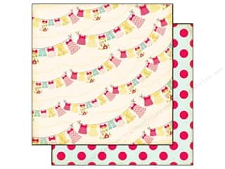 Echo Park Paper 12x12 Sweet Girl Laundry Line (25 piece)