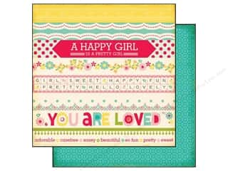 Echo Park 12 x 12 in. Paper Sweet Girl Border Strips (25 piece)