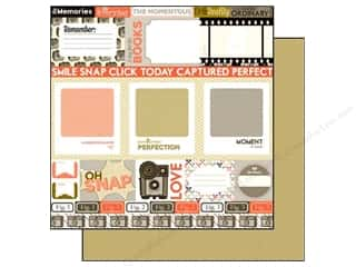 Clearance Blumenthal Favorite Findings: Echo Park 12 x 12 in. Paper Oh Snap Journaling Cards (15 piece)