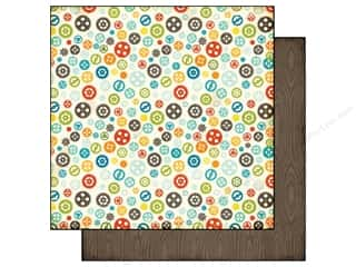 Echo Park Paper 12x12 All About A Boy Gears (25 piece)