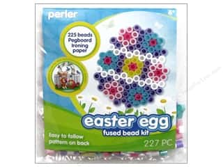 Kid Crafts Easter: Perler Fused Bead Kit Trial Easter Egg