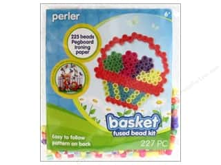 Kid Crafts Easter: Perler Fused Bead Kit Trial Basket