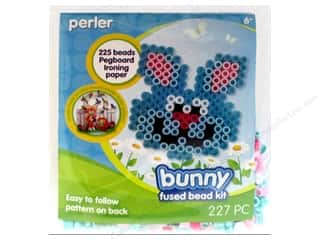 Kid Crafts Easter: Perler Fused Bead Kit Trial Bunny