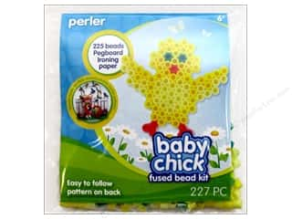 Kid Crafts Easter: Perler Fused Bead Kit Trial Baby Chick