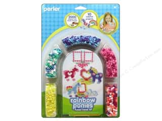 Perler Animals: Perler Fused Bead Kit Rainbow Pony Frames