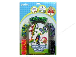 Insects Hot: Perler Fused Bead Kit Rare Bugs N Birds