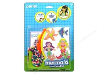 Beads Bead Kits: Perler Fused Bead Kit Mermaid