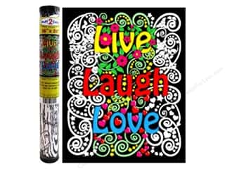 "Stuff2Color Velvet Poster 16""x 20"" Live Laugh Love"
