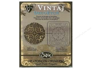 Sizzix Die Vintaj DecoEtch Baroque Filigree