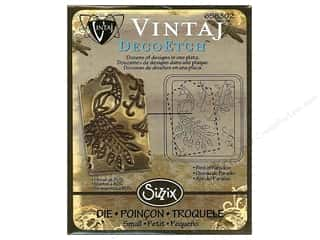 Sizzix Die Vintaj DecoEtch Birds Of Paradise