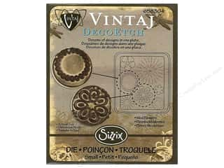 Sizzix Die Vintaj DecoEtch Mod Flowers