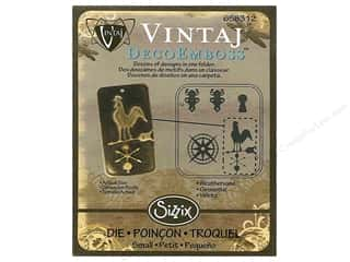 Sizzix Emboss Folder Vintaj DecoEmboss Weathervane