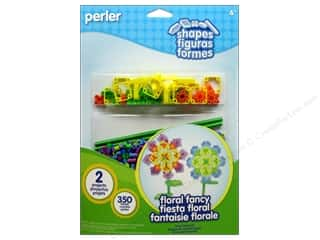 Perler Fused Bead Kit Shapes Floral Fancy