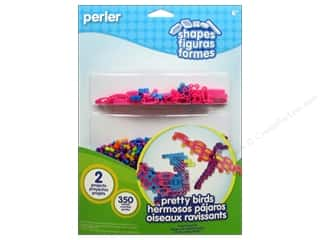 Perler Fused Bead Kit Shapes Pretty Birds
