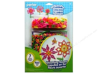 Perler Fused Bead Kit Shapes Blooming Flowers