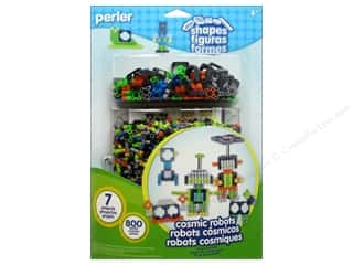 Perler Fused Bead Kit Shapes Cosmic Robots