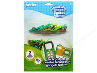 Toys Kids Crafts: Perler Fused Bead Kit Shapes Tech Gadgets