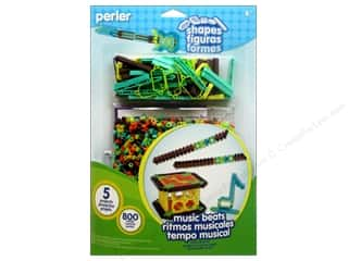 Music & Instruments Irons: Perler Fused Bead Kit Shapes Music Beats