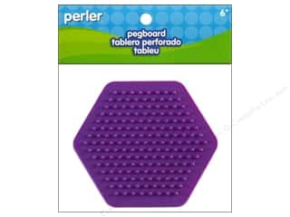 Perler Crafts: Perler Pegboard Small Hexagon