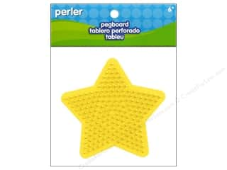 Perler $4 - $6: Perler Pegboard Small 5 Point Star