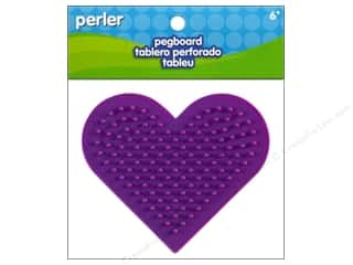 Perler Pegboard Small Heart