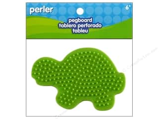 Perler Animals: Perler Pegboards Small Turtle
