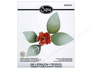 StenSource International Clearance Crafts: Sizzix Sizzlits Die Flower Bloom w/ Leaves 3D by Scrappy Cat