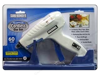 Glues, Adhesives & Tapes: Surebonder Cordless Glue Gun High Temperature