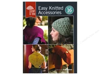 Interweave Press Crochet & Knit: Interweave Press Craft Tree: Easy Knitted Accessories Book by Amy Palmer