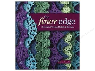 Interweave Press Crochet & Knit: Interweave Press The Finer Edge Book by Kristin Omdahl