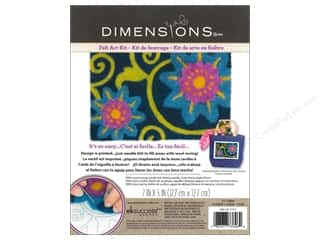 Dimensions Needle Felting Art Kit 7 x 5 in. Flower