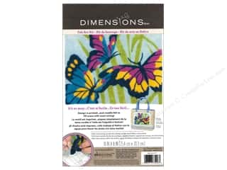 Clearance Blumenthal Favorite Findings: Dimensions Needle Felting Art Kit 10 x 8 in. Butterflies