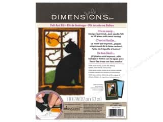 Dimensions: Dimensions Needle Felting Art Kit 5 x 7 in. Cat