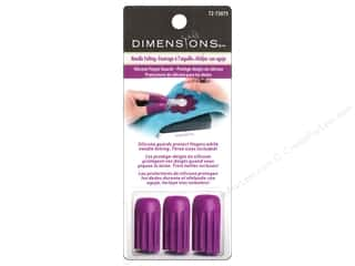 Clearance Blumenthal Favorite Findings: Dimensions Needle Felting Finger Guards 3 pc.