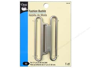 "Dritz Buckle Fashion 3"" Brushed Nickel"