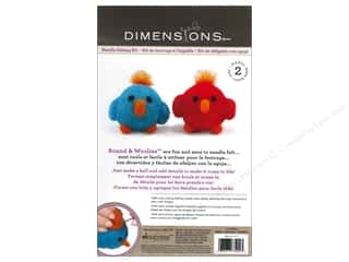 Weekly Specials Needle Felting: Dimensions Needle Felting Kit Round & Woolies Birds