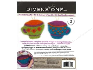 Dimensions Dimensions Needle Felting Kits: Dimensions Needle Felting Kits Cutouts Tea Cup